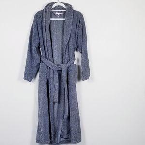 Victoria Secret cotton two pocket long robe!